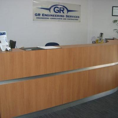 Vagnoni Cabinets Reception Desk 2