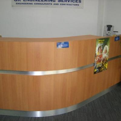 Vagnoni Cabinets Reception Desk 3