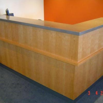 Vagnoni Cabinets Reception Desk 6